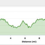 Atlanta Thanksgiving Half Marathon – Elevation and Map