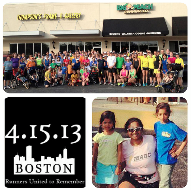 #RunForBoston - Honored to be a part of a wonderful running community