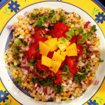 Mango Salsa with Harvest Grains