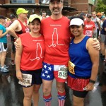 Peachtree Road Race 2013