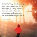 Enjoy the Run, Enjoy the Life