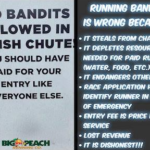 Selfie Bandit at Georgia Half Marathon