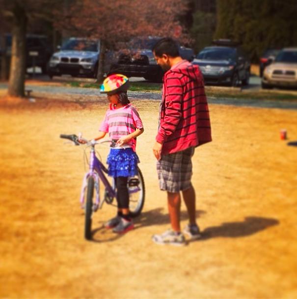 Bike & 8yo