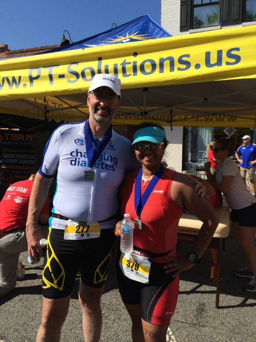 Allatoona Sprint Triathlon - Dopey!