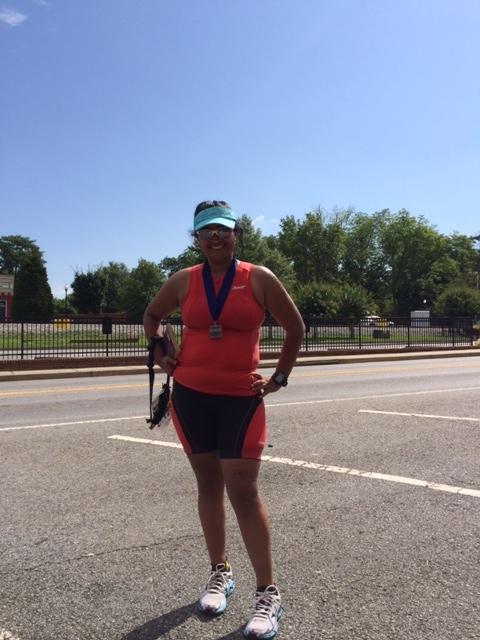 Allatoona Sprint Triathlon - muffin top