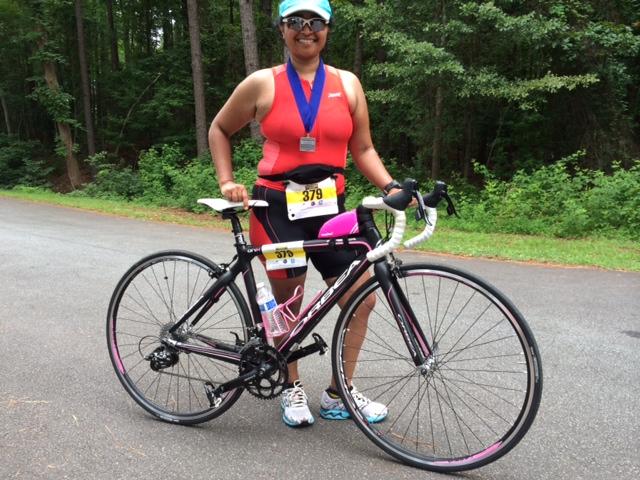 Allatoona Sprint Triathlon - Love Bike