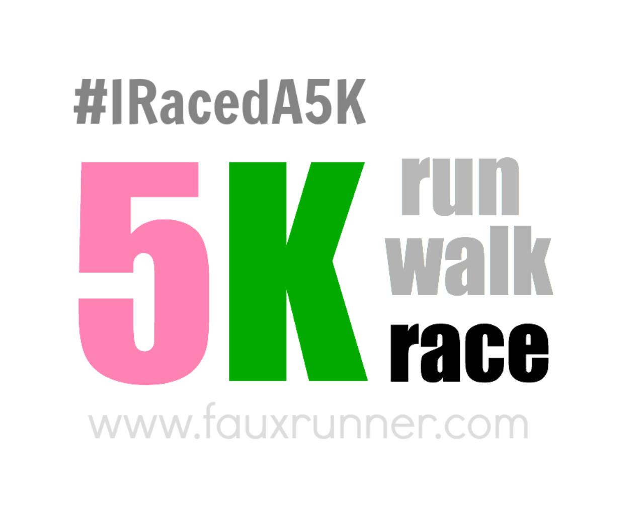"""Virtual """"Race a 5k"""""""