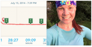 "Joy Shipley - I just ran the virtual 5k and I'm so pumped I did a sub-30!! I pushed, and I think I still had more! I have really been underestimating myself, I think. Thanks for the push and awesome group mentality here!! My mantra tonight was GFU, or ""get f-ing uncomfortable"""