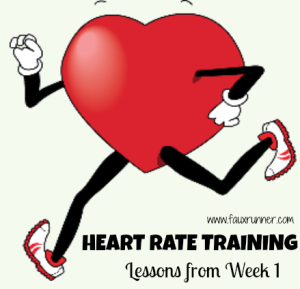 Training Recap: Lessons from Week 1 of Heart Rate Training