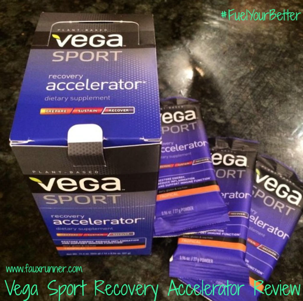Vega sport Recovery Accelerator Review