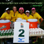 Tips on How to be a Great Race Volunteer