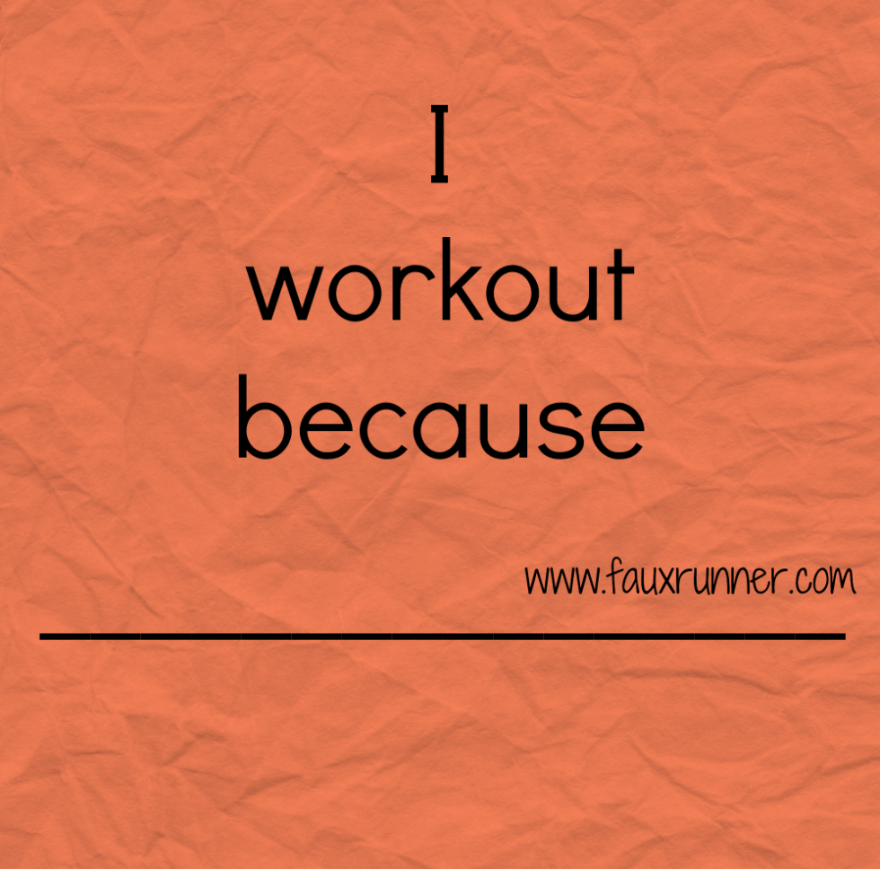 Why do you workout