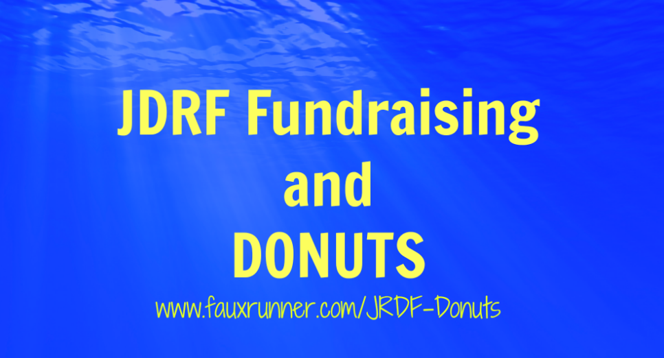 JRDF Fundraising for Donuts