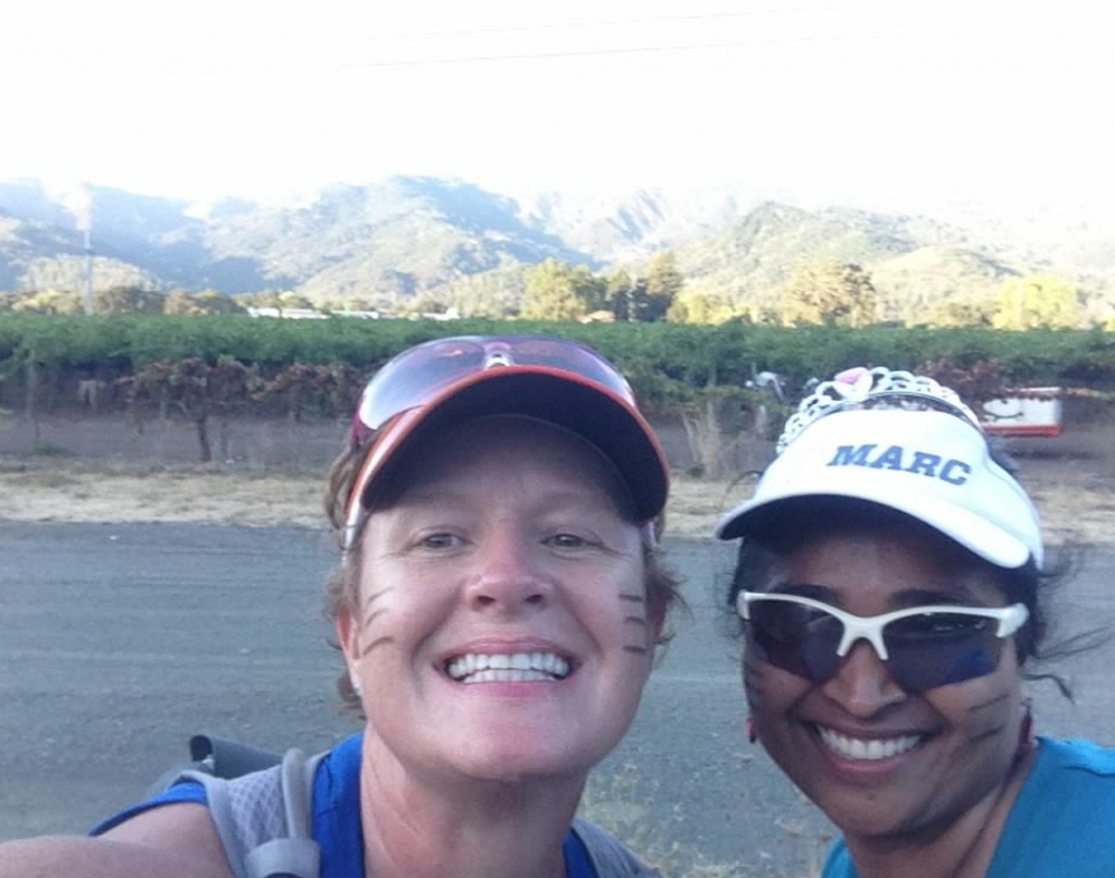 What good is a run without a mid run selfie? Especially with a fun running buddy and great surroundings!