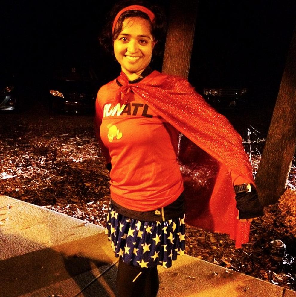 Wonder Woman makes an appearance