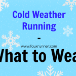 Cold Weather Running – What to wear