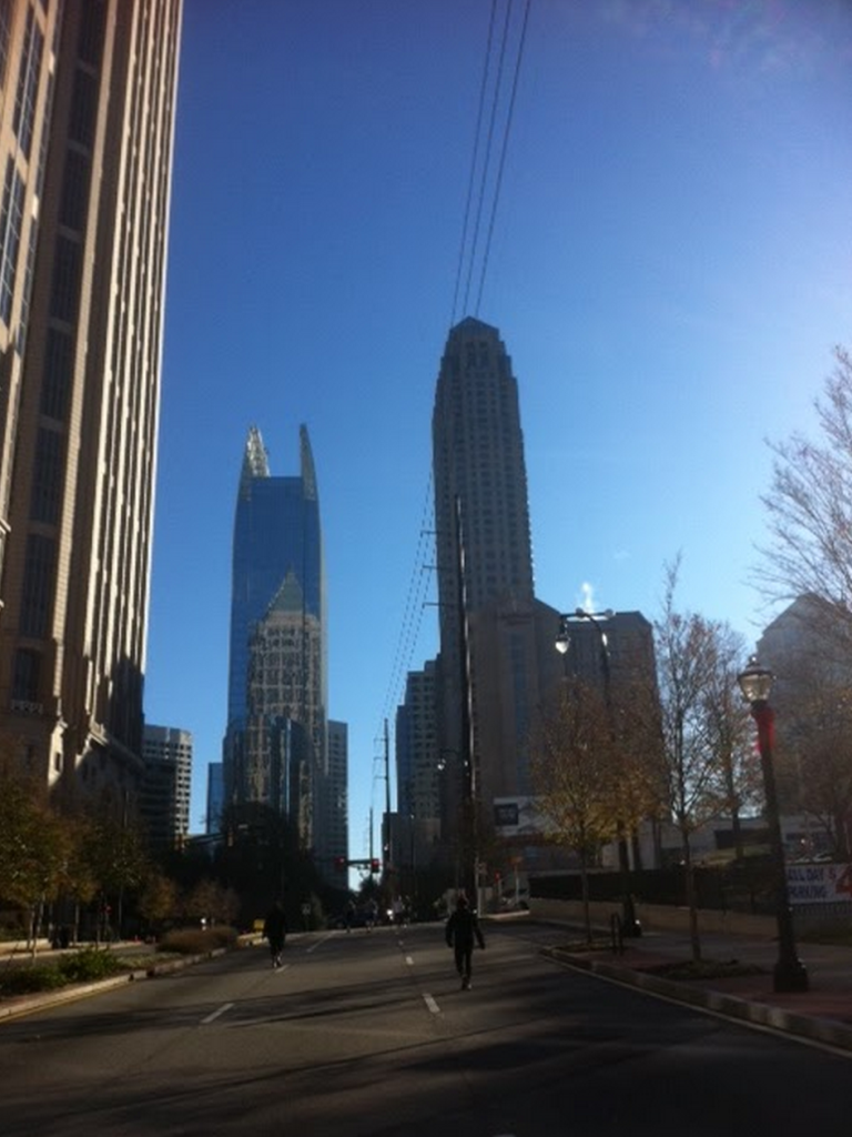 "My first ""hill repeat"" - Midtown Atlanta, a long incline that turned into this 14th street and crested as the 14th street met Peachtree Rd.  (Photo from 2011)"