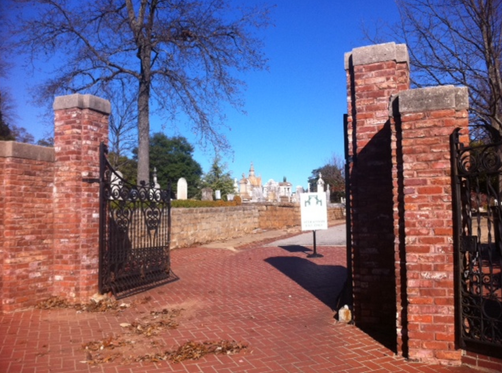 Historic Oakland Cemetery (Photo from 2011)