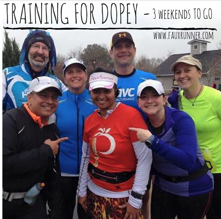 Training for Dopey Challenge – Weekend 1