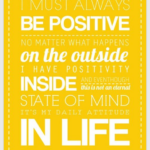 Pinspiration Friday: Be Positive