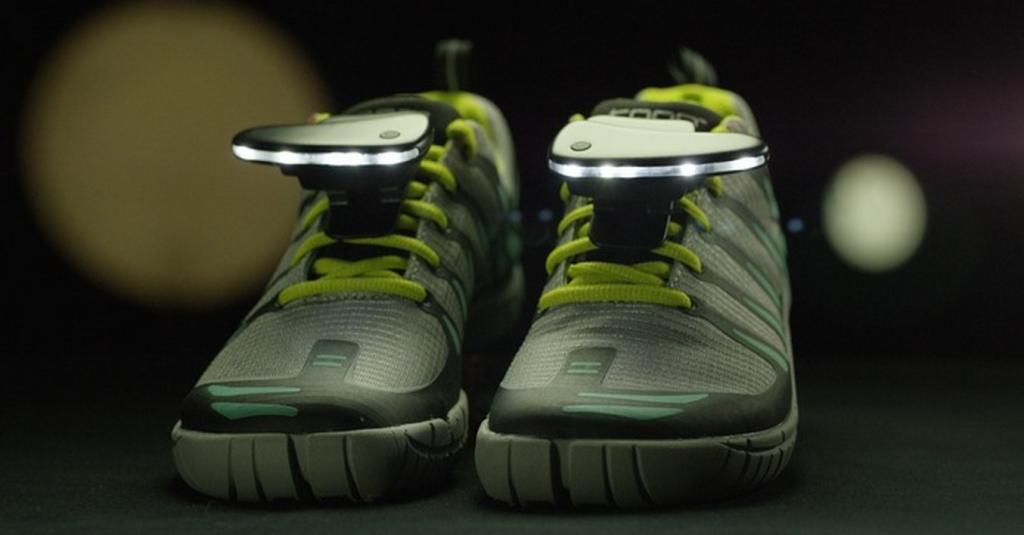 Nightrunner shoe lights