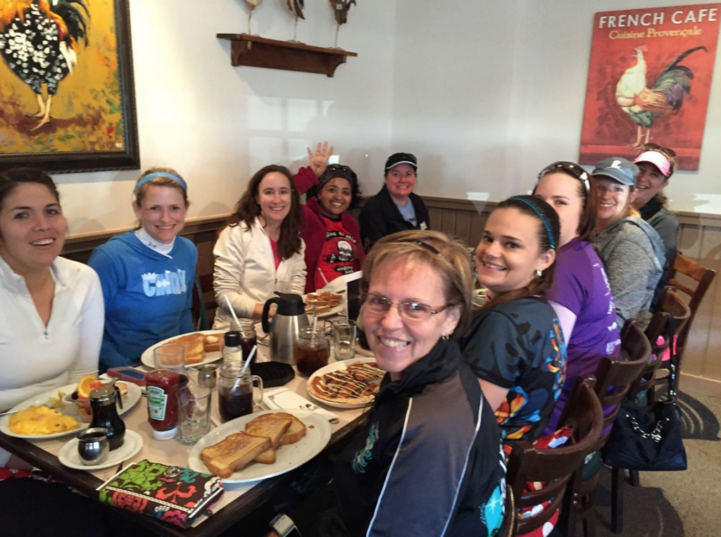 Egg Harbor Cafe Post race