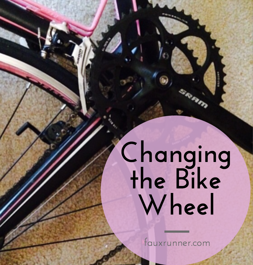 How to change a bike wheel