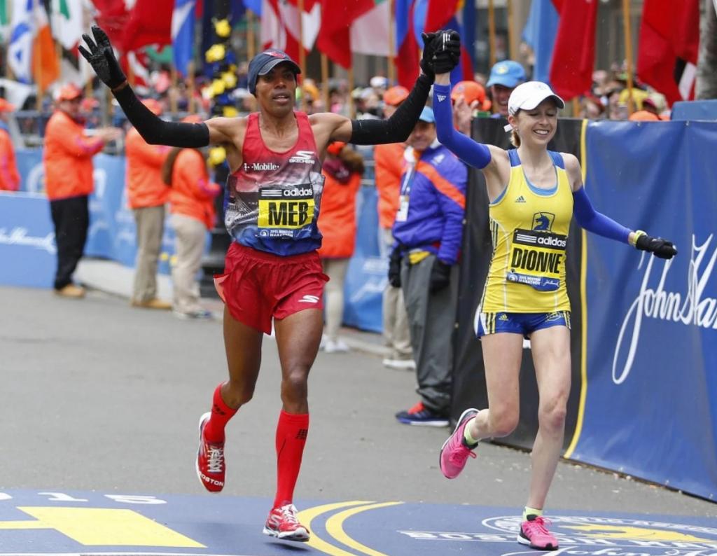 Meb Dionne Boston Marathon 2015