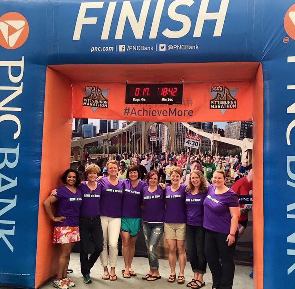 Pittsburg Half Marathon BAMRs - Expo