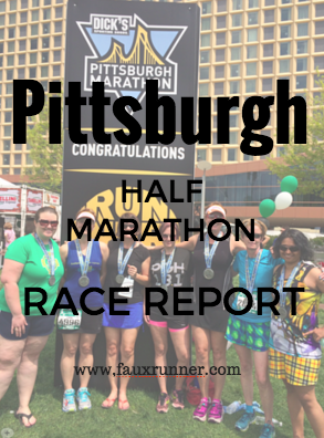 Pittsburgh Half Marathon Race Report