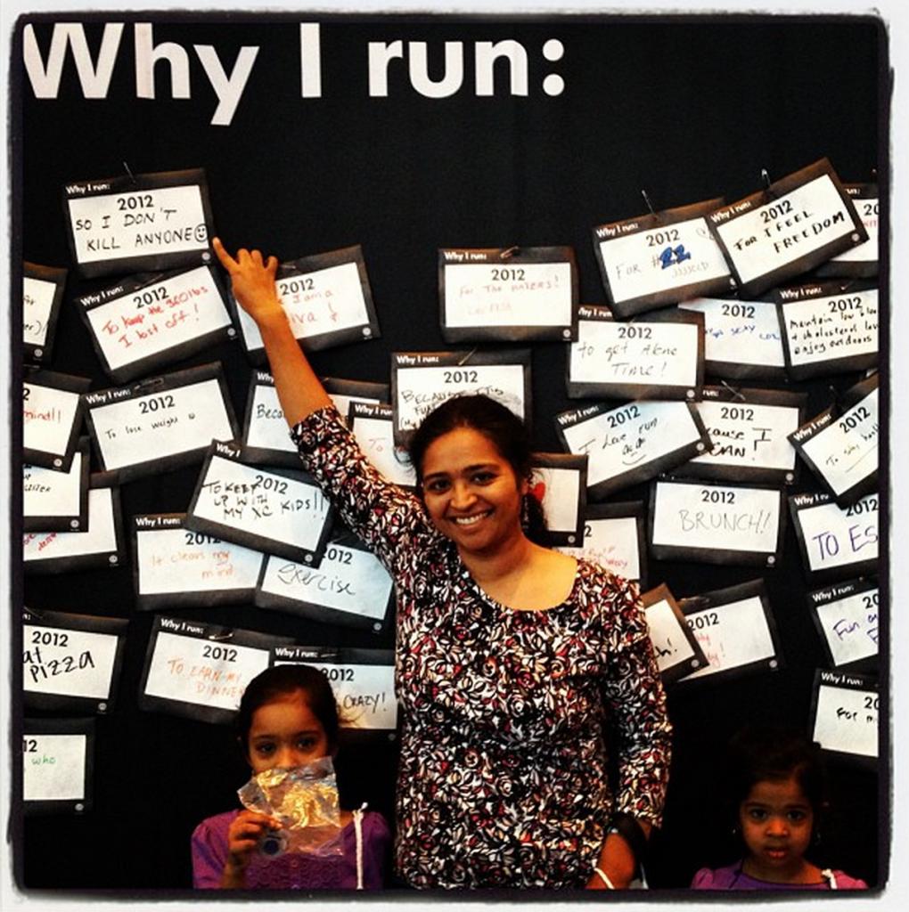 Why do you run