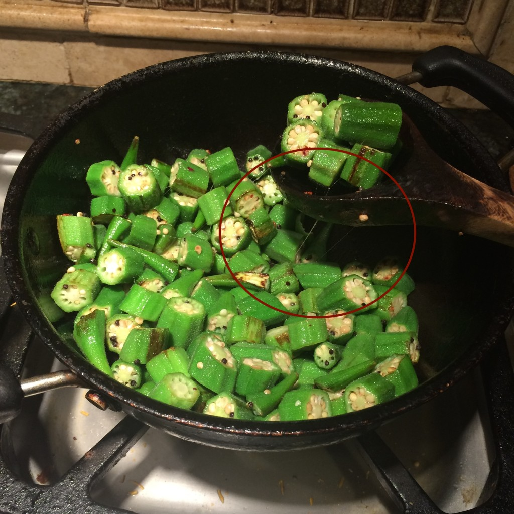 Okra Fry Indian Style