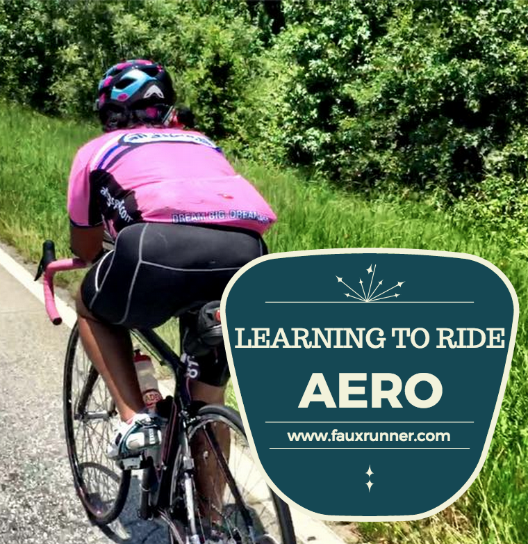 How to ride aero