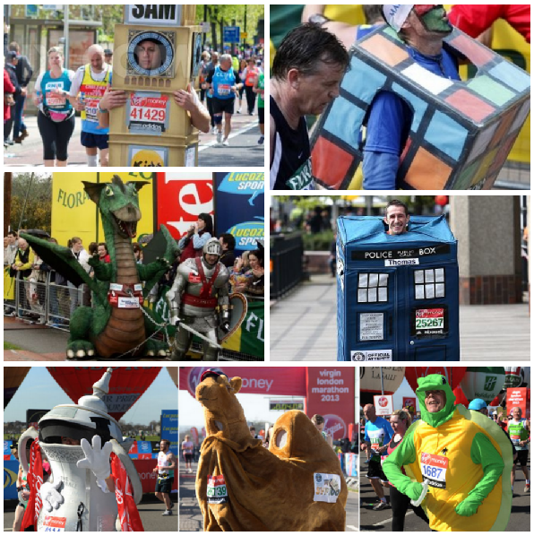 London Marathon Costumes