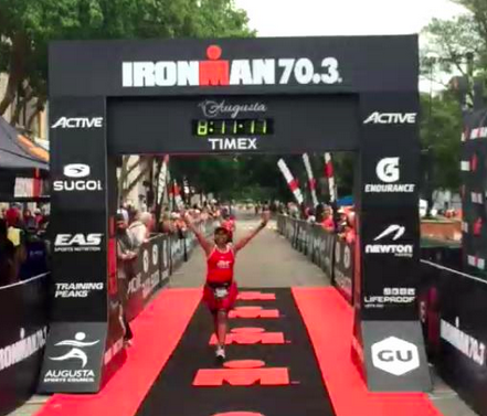 Ironman 70.3 Augusta Race Report