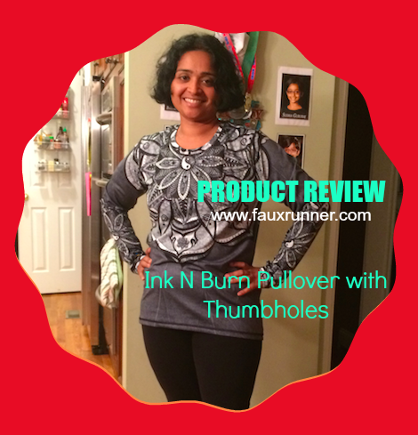 Ink N Burn Pullover with Thumbholes Review