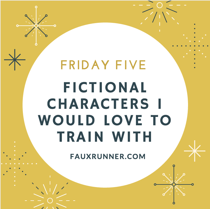 Fictional Characters to train with