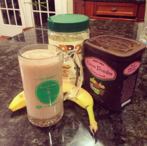 pb2 chocolate smoothie