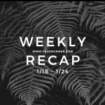 Keeping Things Simple: Weekly Recap