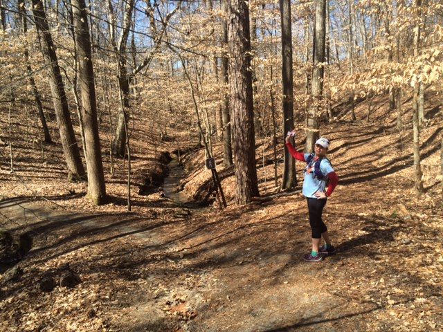 Trail Running at Kennesaw Mountain