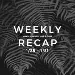 Let's Get Speedy: Weekly Recap