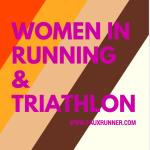 Women in Running and Triathlon: Friday Five