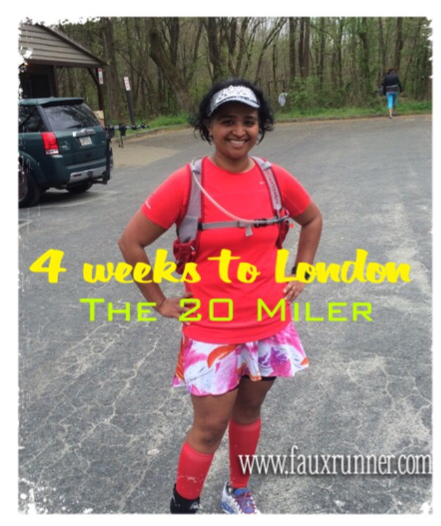 4 Weeks to London – Training Recap