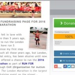Marathon Miles Dedication