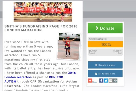 Marathon Miles Dedication