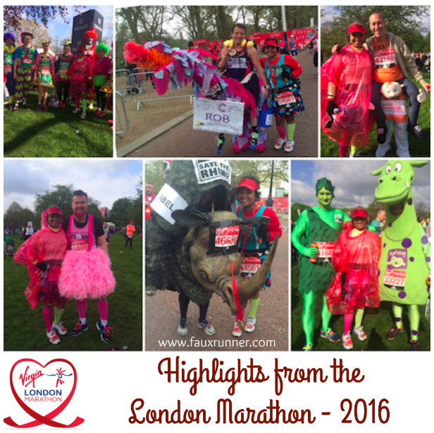 Highlights from my London Marathon 2016