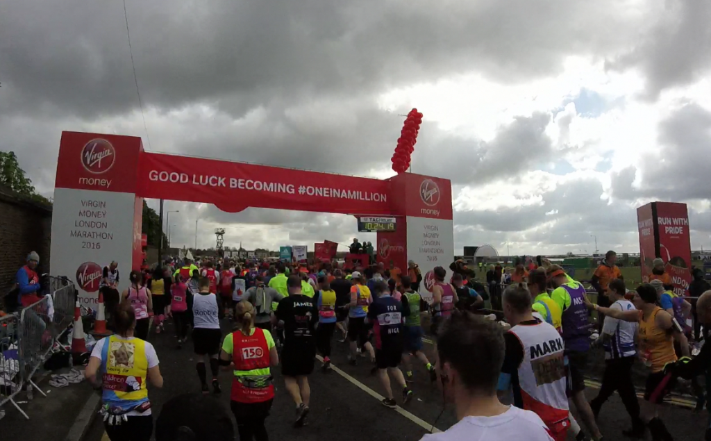 London Marathon Race Report