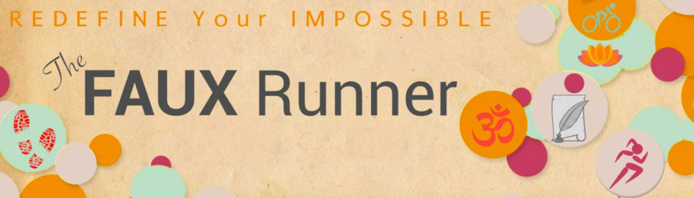 """Faux"" Runner … No More"