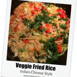 Veggie Fried Rice – Indian Chinese Style