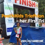 PeachKids Triathlon – her First Tri